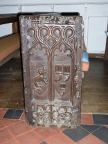 A C15 bench end