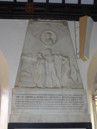 St Clement: the Reynolds memorial