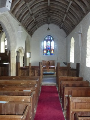 St Eval: south aisle