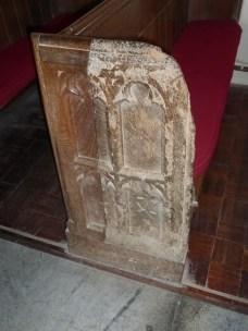 St Merryn: C15 bench-end