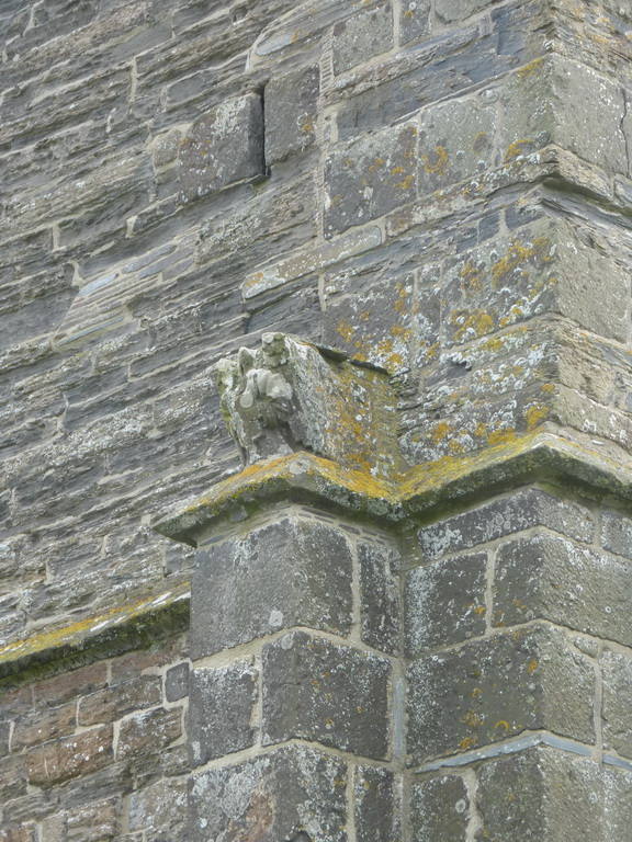 St Merryn: a tower angel
