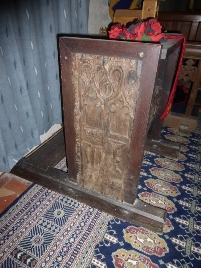 St Gennys: re-used bench ends