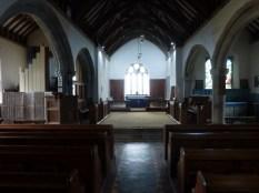 St Gennys: interior