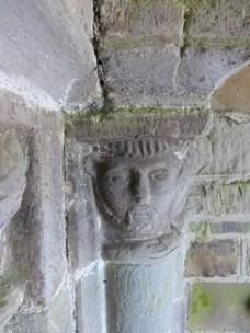 Kilkhampton: doorway (detail)