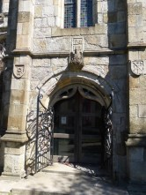 St Austell: porch