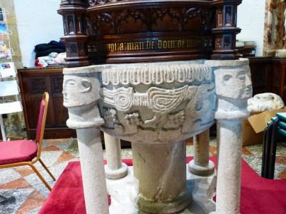 St Austell: Norman font