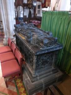 Bodmin: Prior Vyvian's tomb
