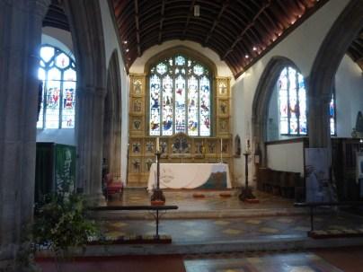 Bodmin: the high altar