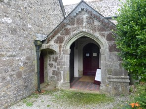 Gwinear: the porch