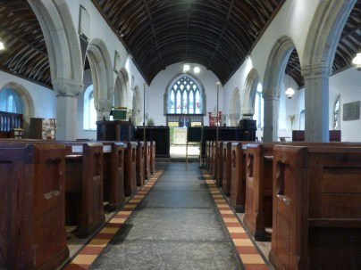 Gwinear: the nave