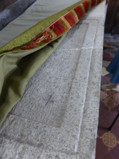 Phillack: the original altar slab