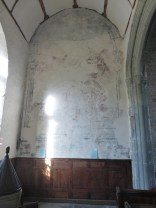 Launcells: wall painting of Isaac