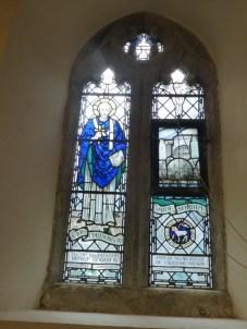 Mawnan: Santa Sophia window