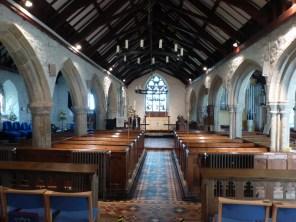 Stithians: the nave