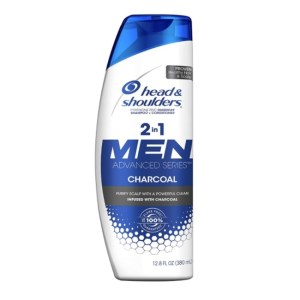 Head & Shoulders Men Advanced Series 2in1 Charcoal Shampoo 12.8 fl.oz