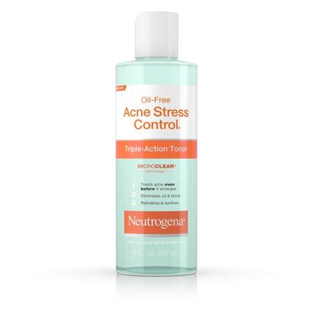 Neutrogena Acne Stress Control Triple-Action Toner, 8 fl.oz/237ml