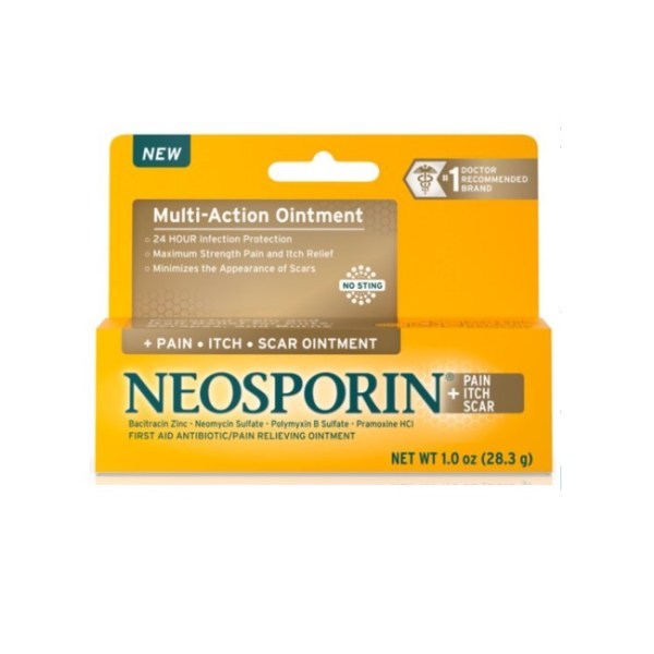 Neosporin + Pain, Itch, Scar Antibiotic Ointment 28.3g/1oz