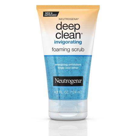 Neutrogena Deep Clean Invigorating Foaming Scrub 4.2 fl.oz/124ml