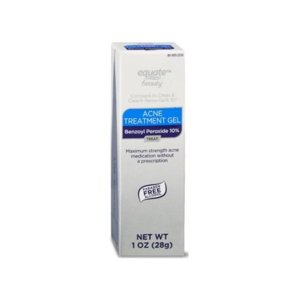 Equate 10% Benzoyl Peroxide Acne Treatment Gel 1oz/28g