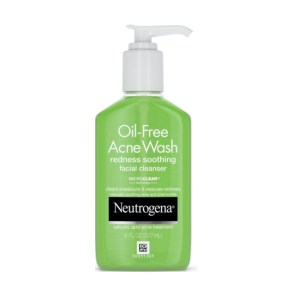 Neutrogena Oil-Free Acne Wash Redness Soothing Facial Cleanser 6fl.oz/177ml