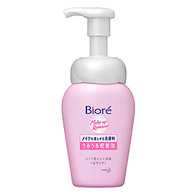 Biore Make Up Remover 2n1 Instant Foaming Wash 160ml.