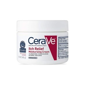 CeraVe Itch Relief Moisturizing Cream 12oz/340g