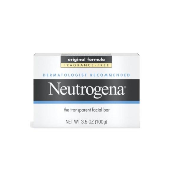 Neutrogena Transparent Facial Bar original formula, Fragrance-Free 3.5oz/100g
