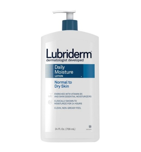 Lubriderm Daily Moisture, Normal to Dry Skin Lotion 24fl.oz/709ml