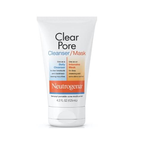 Neutrogena Clear Pore Cleanser/Mask 4.2fl.oz/125ml