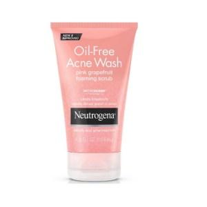 Neutrogena Oil-Free Acne Wash Pink Grapefruit Foaming Scrub 4.2fl.oz/124ml