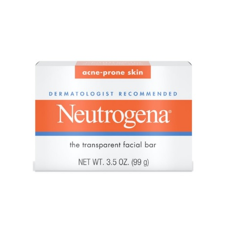 Neutrogena Acne-Prone Skin Transparent Facial Bar 3.5oz/99g