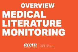 Medical Literature Monitoring