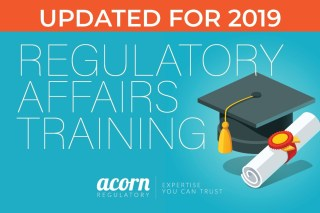 regulatory affairs training courses - Acorn Regulatory
