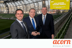 Acorn Regulatory Takes Part in Enterprise Ireland & IDA 2018 Trade Mission Events