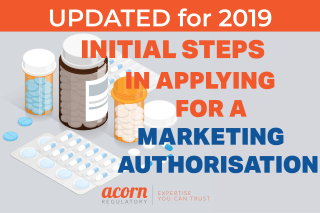 Marketing Authorisation Initial Steps in Applying for a MAH