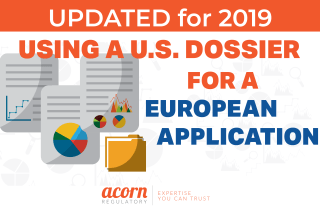 Using A U.S. Dossier for a European MA Application
