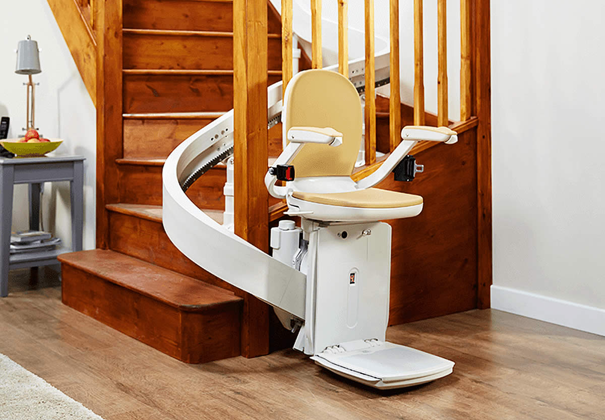 Stair Chair Lift Prices Curved Stairlifts Acorn Stairlifts