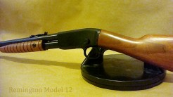 Remington 12 shotgun restoration.