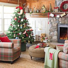 Cozy cottage living room