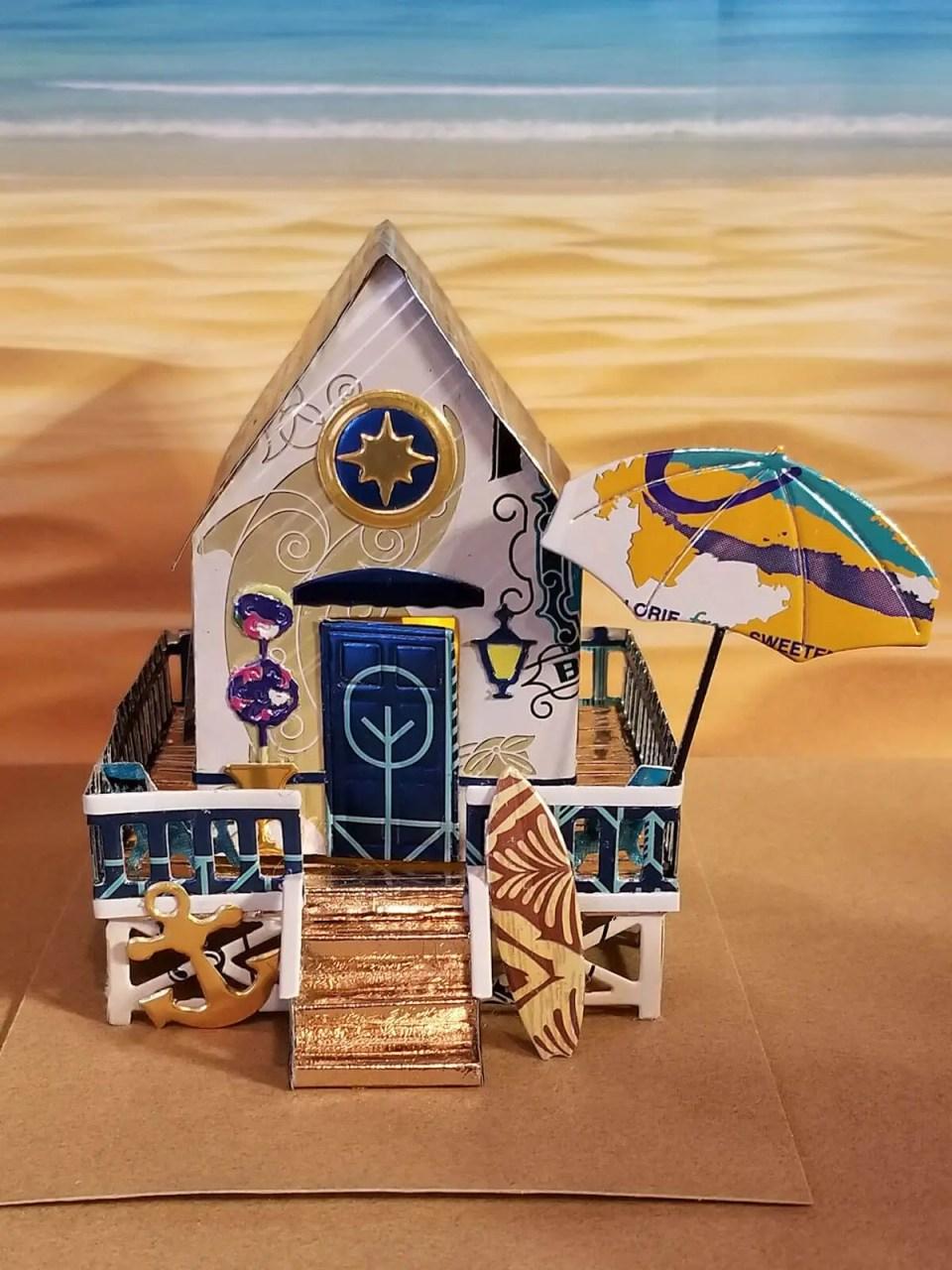 Beach House #1 aluminum can house