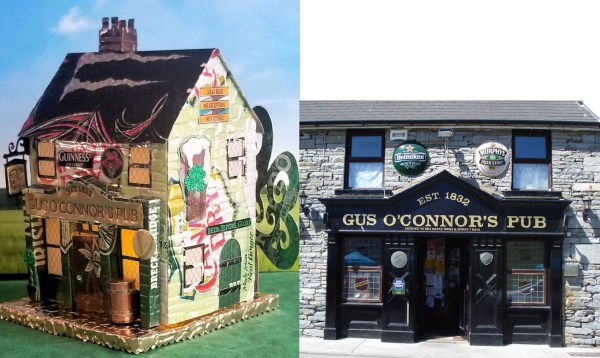 Gus O'Connor's Pub and real building