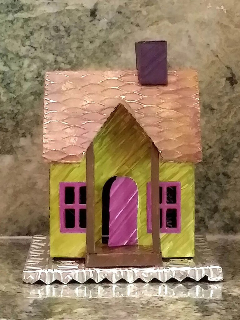 My one and only painted can house