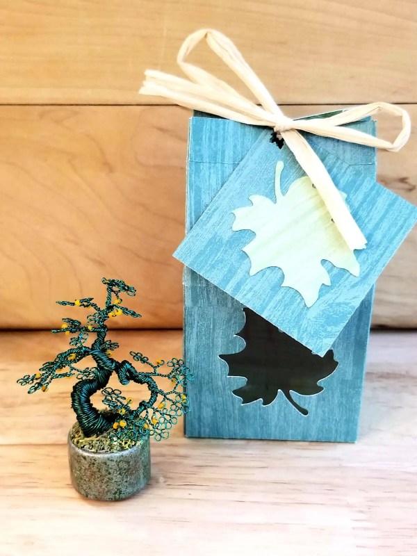 Miniature Wire Bonsai Tree M13 image 5 of 5