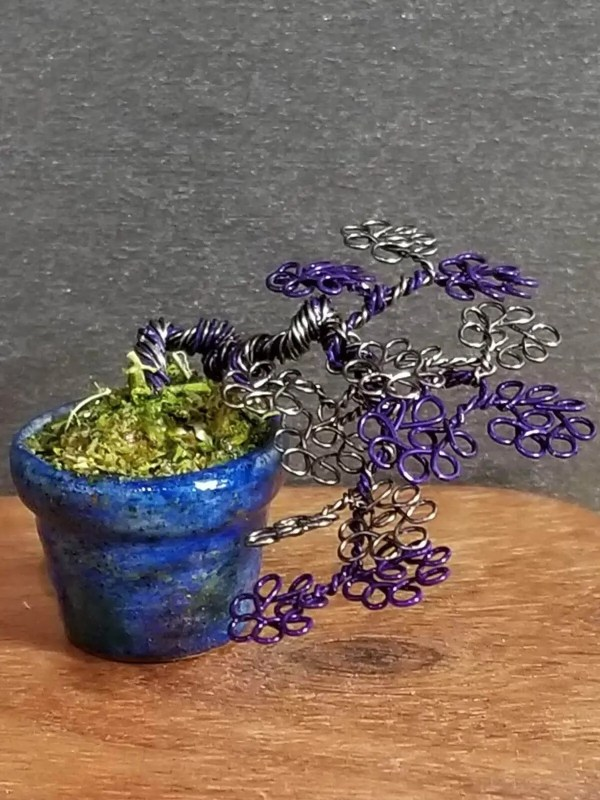 Micro Wire Bonsai Tree S8 image 6 of 7