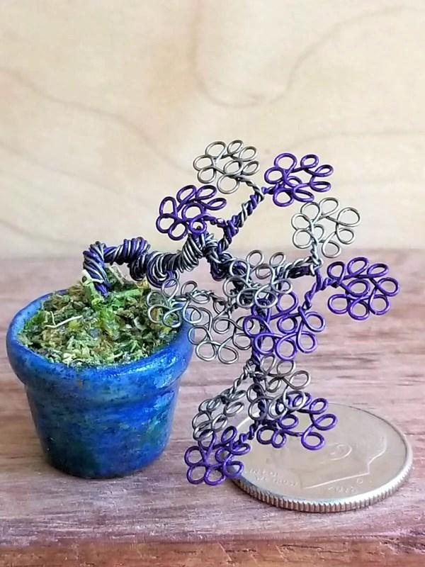 Micro Wire Bonsai Tree S8 image 4 of 7