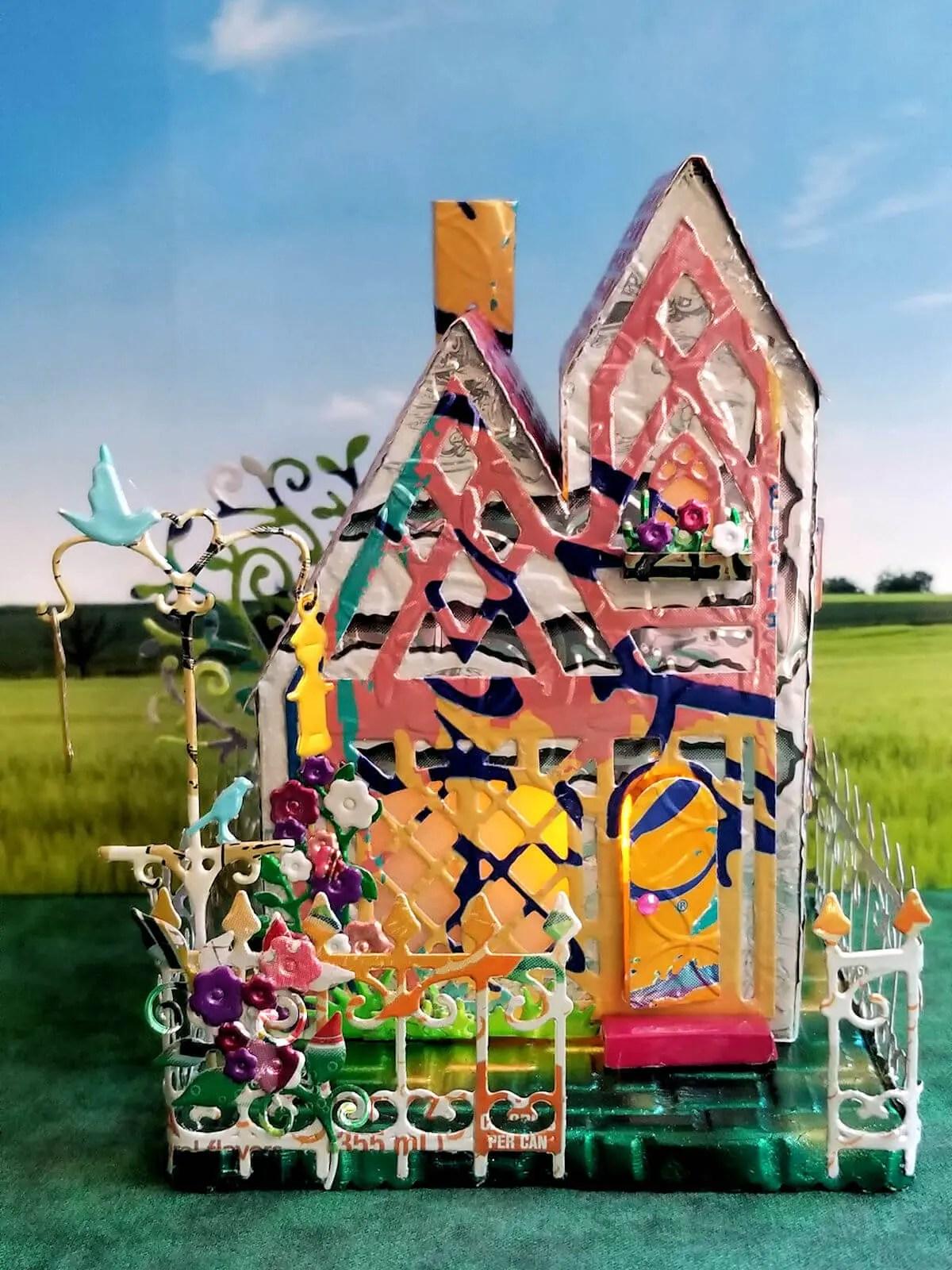 Tudor Cottage #1 aluminum can house