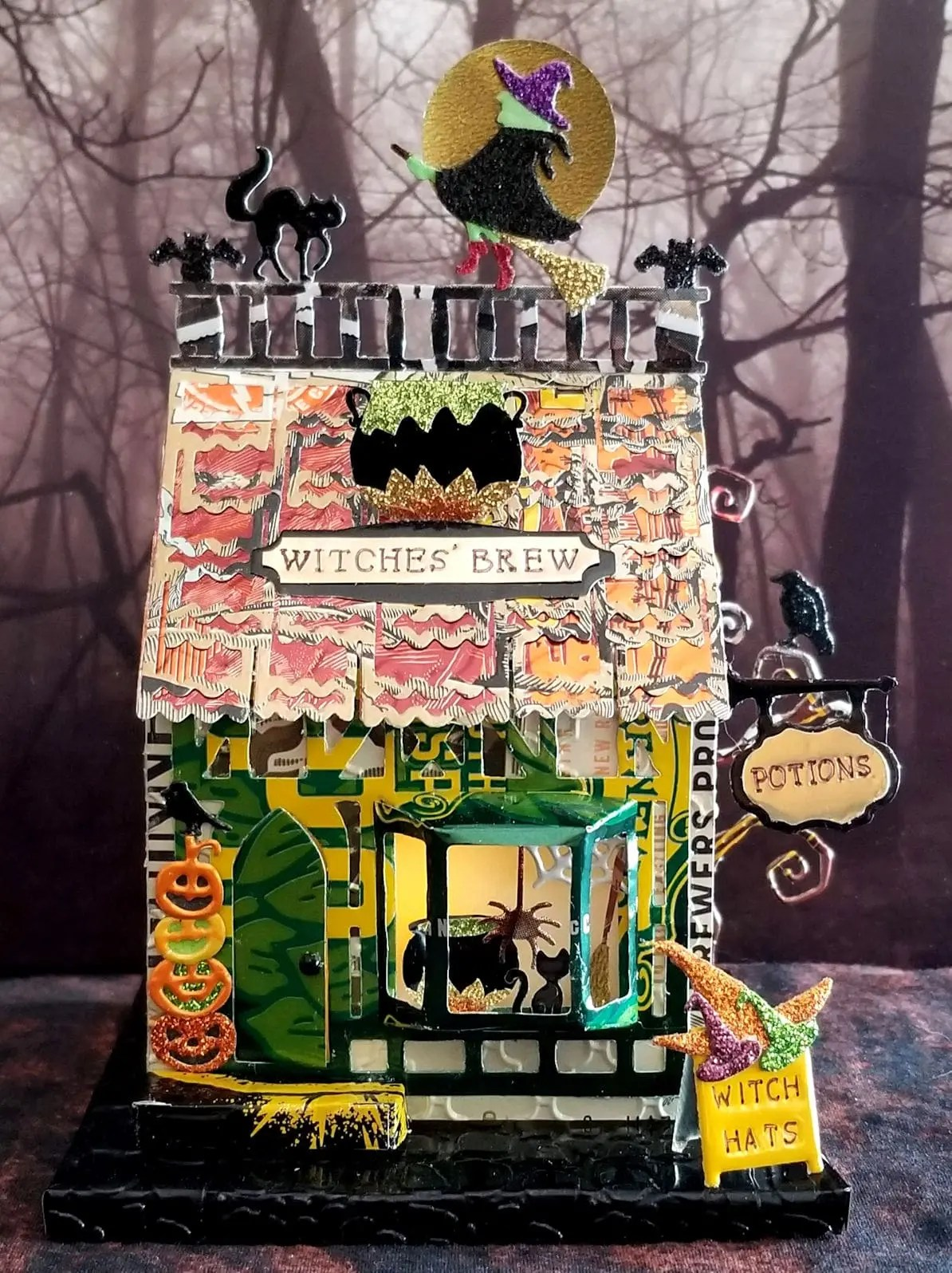 Witches Brew #3 aluminum can house