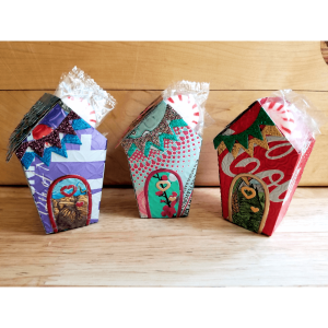 Aluminum can house containers image 1 of 7