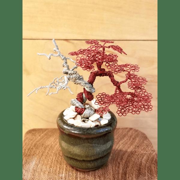 Miniature Wire Bonsai Tree L16 image 1 of 5