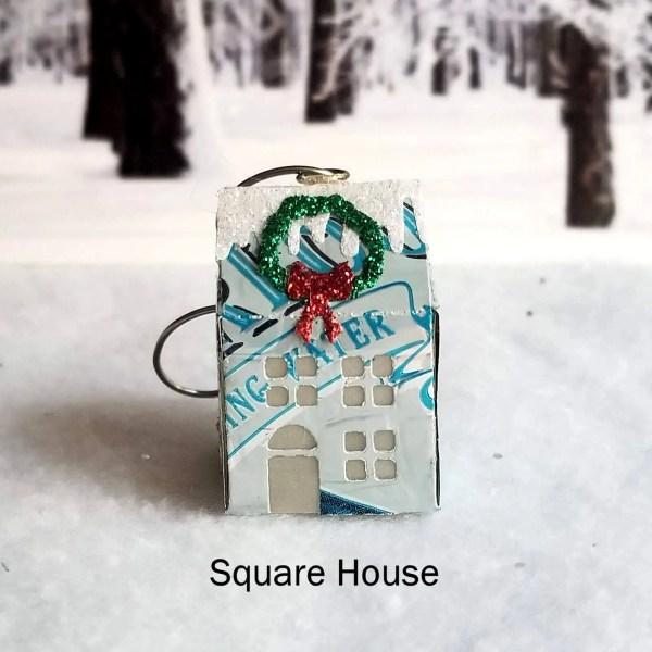 Square House Ornament